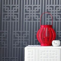 Steve Leung 'Bao' Wallpaper from Graham and Brown