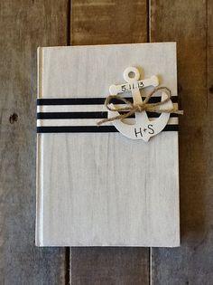 Nautical Wedding Guest Book