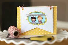 sunshine doodles and lawn fawn. Paper Art, Paper Crafts, Cute Banners, Card Tricks, Lawn Fawn, You Are My Sunshine, Twine, New Product, Cardmaking