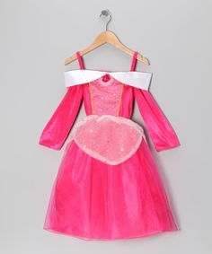 Another great find on #zulily! Hot Pink Princess Dress - Toddler & Girls #zulilyfinds