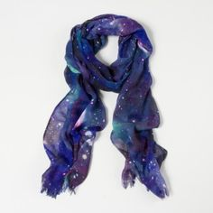 Galaxy Scarf from Claire's. Get up to 7% cash back through RebateGiant http://www.rebategiant.com/store/2277/claires.html