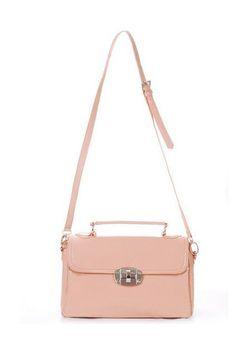 Elegant Patent Faux Leather Handbag