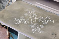The Antheia stencil from the Annie Sloan Stencil Collection on Chalk Paint®
