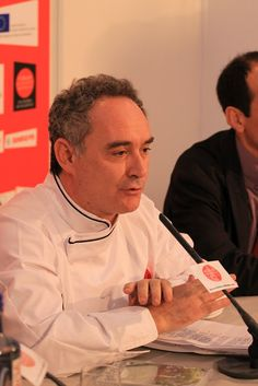 Ferran Adrià at the Fórum Gastronómico Santiago 2010, Santiago de Compostela, Galicia. Photo by Gerry Dawes©2013. Contact gerrydawes@aol.com for publication rights.