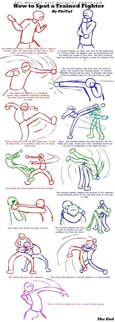 How To Spot A Trained Fighter by PhiTuS:
