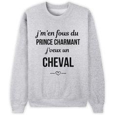 J'veux un cheval // Bienvenue sur Keewi.io - Créez et vendez vos T-Shirts Gratuitement