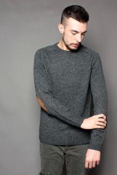 Pullover Esprit uomo melangiato in misto lana