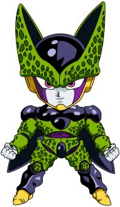 cell_perfecto_chibi_dragon_ball - Visit now for 3D Dragon Ball Z shirts now on sale!
