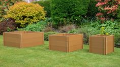 Recycled Plastic Garden Planters - in three sizes!