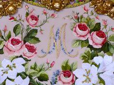 Marie-Antoinette - Cabeceira - detalhe