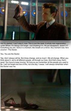 The Time of the Doctor. Hanging up the bow tie. Or rather, letting it fall T~T MATT PLEASE DONT GOOOOOOO