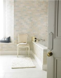 Chic Craquele tiles - main bathroom