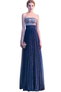 Elegant Prom Dress, Pretty Silver And Blue Long Strapless Open Back Elegant Prom Dresses, Stay on trend with this beautiful prom dresses at Prom Dress Shop. Browse our latest collections, styles, and prices for prom Navy Blue Prom Dresses, Princess Prom Dresses, Open Back Prom Dresses, High Low Prom Dresses, Prom Dresses For Teens, Elegant Prom Dresses, Sweet 16 Dresses, Beautiful Prom Dresses, Junior Bridesmaid Dresses