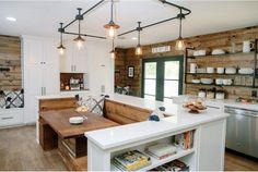 Featured image of Country Chic Kitchen Redesigns from Joanna Gaines