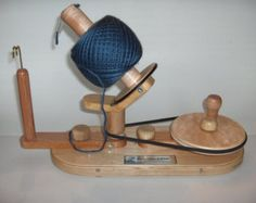 RESERVED, Yarn Ball Winder by Wood That It Whir, Handmade Yarn Ball Winder, large capacity, Crochet, Knitting, Yarn Spinner, Ball Winder