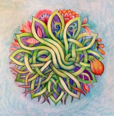 Circle of Life Mandala by Eitan Kedmy