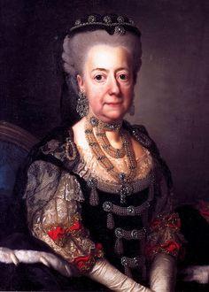1775 Luise Ulrike of Prussia, Queen of Sweden by Alexander Roslin