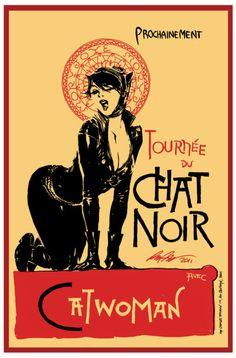 Catwoman - Tournée du chat noir