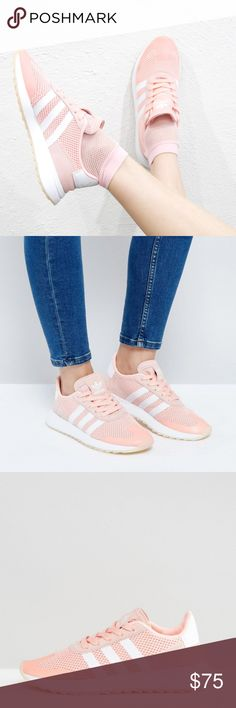 ADIDAS Originals Fashion Sneakers NIB! In Coral Score a vintage vibe with modern comfort with these Adidas Originals Sneakers.   *Mesh upper with suede and synthetic accents.  *Mesh lining.  *TPU 3-Stripes and Trefoil heel patch.  *EVA midsole.  *Serrated rubber outsole.   ❌NO TRADES I❤️Bundles ❤️REASONABLE OFFERS ONLY PLEASE❤️ adidas Shoes Sneakers