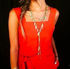The Garland Fringe Necklace + a fishtail plait = total Boho perfection! www.stelladot.com/kalliemgettinger