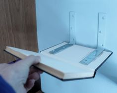 """another bright idea: Floating """"Book"""" Shelf Tutorial"""