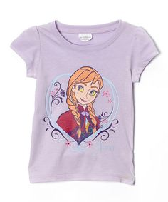 Look what I found on #zulily! Lilac Anna Tee - Toddler & Girls #zulilyfinds