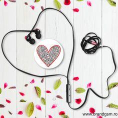 Suport Popsockets Stand Adeziv Cross My Heart by Keith Haring Pop Socket, Keith Haring, My Heart, Red