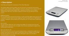Etekcity Digital Kitchen Scale Multifunction Food Scale 11 lb 5 kg Silver Stainless SteelReview  Buy it on Amazon  http://suggestionstips.com/Product.html?2DGqeU7  Discount Etekcity Digital Kitchen Scale Multifunction Food Scale 11 lb 5 kg Silver Stainless Steel Batteries Included Reviews  Click the link to buy now or to read the 4 & 5 Star Reviews.  Like us on Facebook for videos pictures coupons prizes and more  https://www.facebook.com/Suggestion-Amazon-Product-216189025620711/  D  View…