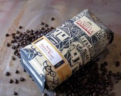 graphic coffee packaging - Google Search