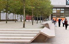 bench-scape - The Juilliard School by Diller Scofidio + Renfro Architec