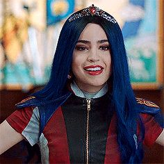 Sofia Carson as Evie in Descendants 3 - The Laziest Motherfucker Cameron Boyce, Dove Cameron, The Descendants, Cheyenne Jackson, Thomas Doherty, Ghostbusters, Monique Lhuillier, American Horror Story, Ouat