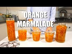 Homemade Orange Marmalade Recipe Video Recipes - World Food & Recipes Healthy Eating Tips, Healthy Nutrition, Orange Recipes, Sweet Recipes, Homemade Orange Marmalade Recipe, How To Make Pancakes, Oranges And Lemons, Recipe Steps, Vegetable Drinks