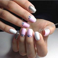 (اين عكس كار من نيست و فقط براي ايده گرفتن شما عزيزان هست) ورق بزنيد😍 💅🏻💅🏻💅🏻💅🏻💅🏻💅🏻 انجام كليه خدمات ناخن و حنا براي اطلاعا بيشتر دايركت يا تلگرام پيام بديد  Minimalist Nails, Square Nail Designs, Nail Art Designs, Fun Nails, Pretty Nails, Evil Eye Nails, Subtle Nails, Nails First, Nagel Gel