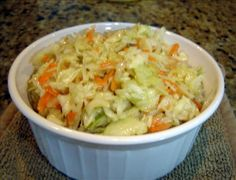 Kittencals Marinated Oil and Vinegar Coleslaw. Photo by Chris from Kansas - The only coleslaw recipe I use.
