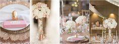 Pink and gold inspiration palette board archives - calder clark Pink And Gold Wedding, Gold Wedding Theme, Cream Wedding, Wedding Colors, Fall Wedding, Wedding Styles, Perfect Wedding, Mini Trifle, Wedding Inspiration