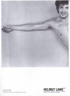Helmut Lang Advertisement-S/S 1997