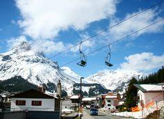 Skiing in Lech, Austria Austria, Mount Everest, Skiing, Mountains, Nature, Travel, Ski, Naturaleza, Viajes