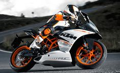 KTM is coming out with some sweet small displacement street bikes.