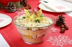 Przepis na Warstwowa sałatka z selerem konserwowym Guacamole, Potato Salad, Mashed Potatoes, Cabbage, Baking, Vegetables, Ethnic Recipes, Food, Whipped Potatoes