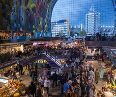 World's Coolest New Tourist Attractions 2015: Markthal Rotterdam, Netherlands