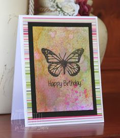 Happy Little Stampers: Spotlight on Butterfly Birthday