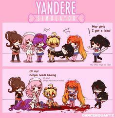 Yandere Comic - Ayano's Happy End by DancerQuartz