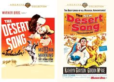 The Desert Song ('43 and '53 Versions) DVD Reviews: Plants and Birds and Rocks and Things