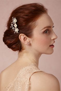 Nightingale Comb in Shoes & Accessories Headpieces at BHLDN