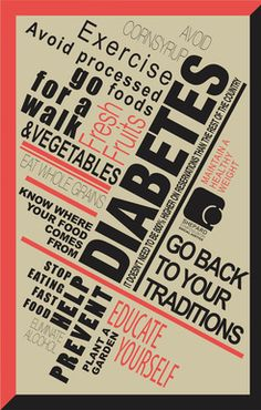 Diabetes: Solution poster #Native #American