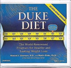 The Duke Diet The World-Renowned Program Weight Loss NEW SEALED FREE S/H US