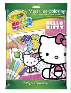 Crayola Hello Kitty coloring pad and marker set is 32% off!