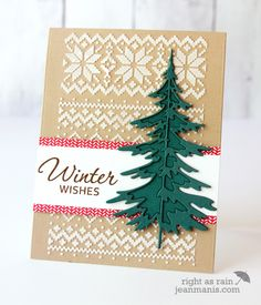 CAS Cozy Christmas by jeanmanis - Cards and Paper Crafts at Splitcoaststampers