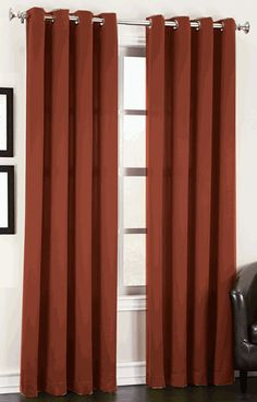 Madison is a solid room darkening drapery with easy to hang stainless steel grommets, enhance the appearance of your window decor with these easy to hang grommet curtains.
