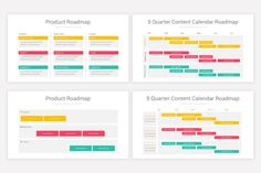 Product Roadmap Keynote Presentation Template | Nulivo Market Presentation Templates, Keynote, Bar Chart, Marketing, Bar Graphs